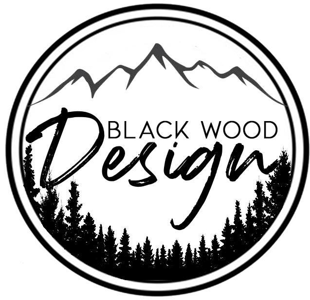 Black wood design